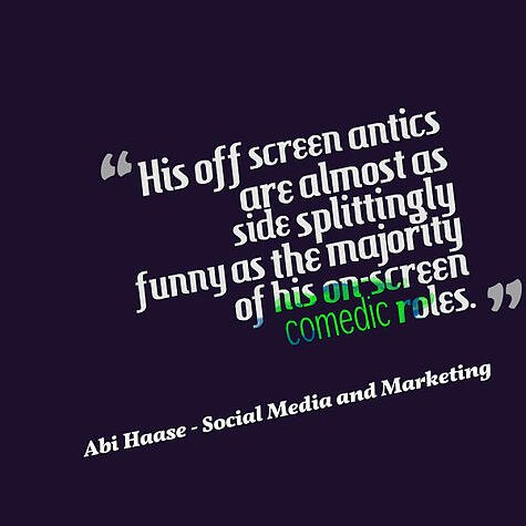 Hollywood Branded Movie Abi Haase Quote
