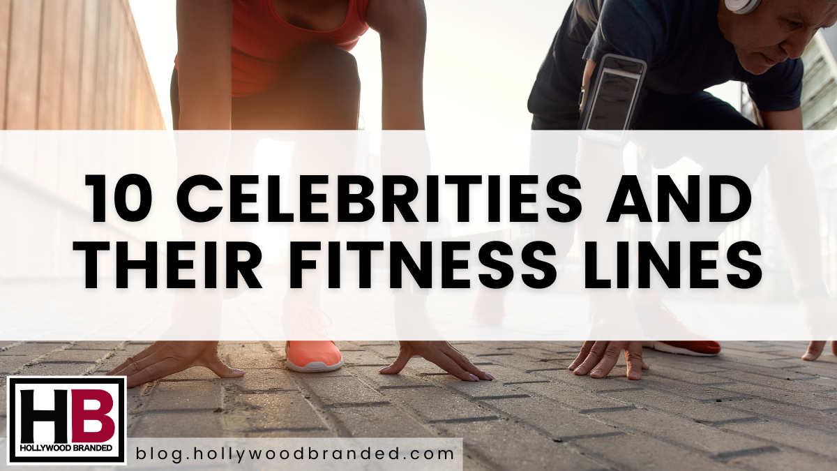 10 Celebs With Their Own Fitness Lines