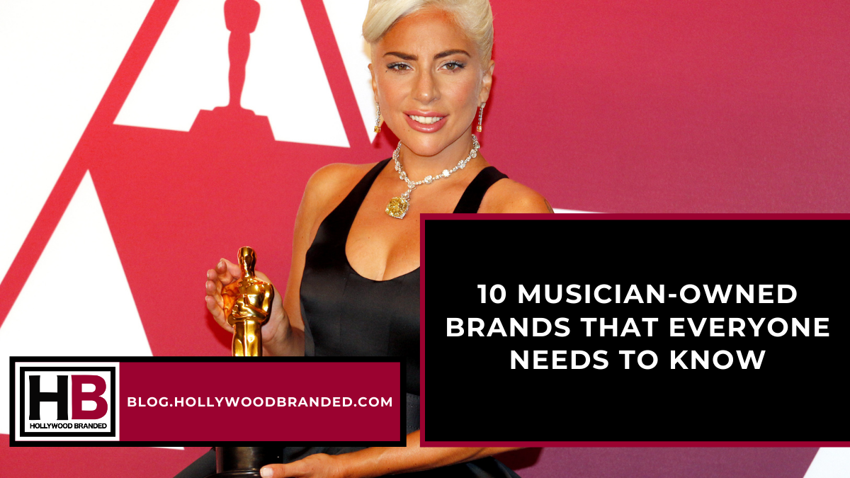 10 Musician-Owned Brands That Everyone Needs to Know