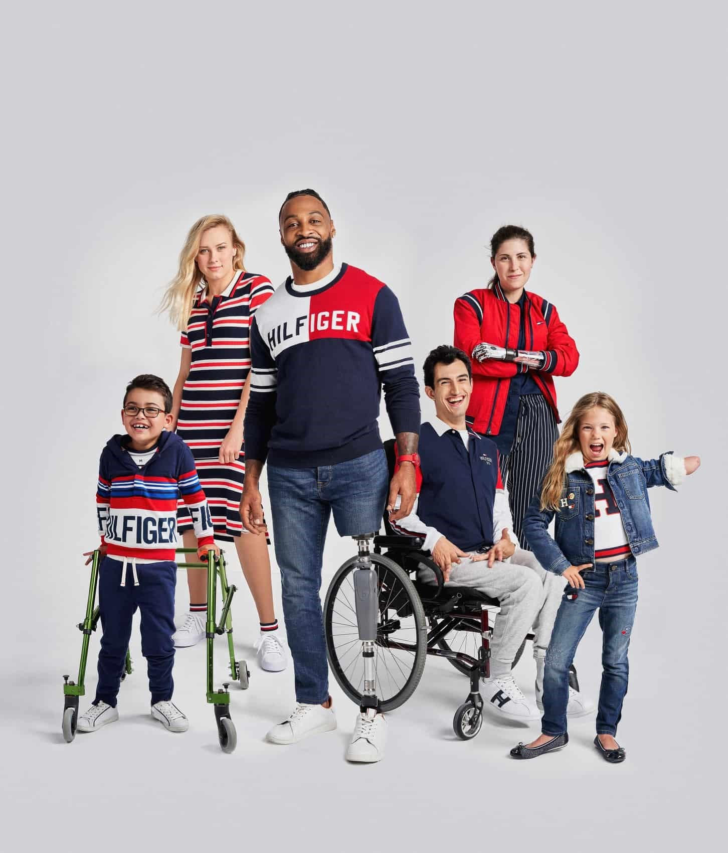 Tommy Hilfiger Adaptive is the brand's newest line that is inclusive to all and that makes clothing with disabled consumers needs in mind