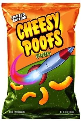 Cheesy Poofs Marketing