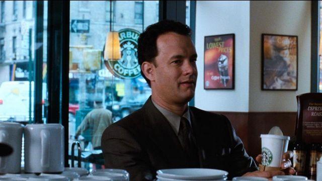 Tom Hanks Starbucks You've Got Mail