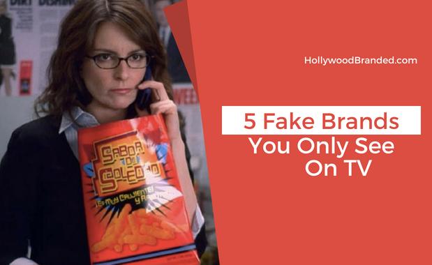 5 Fake Brands On TV