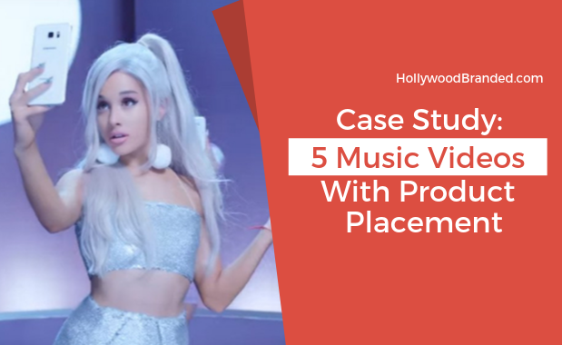 5 Music Videos Product Placement