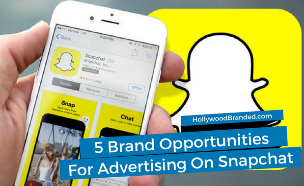5 Opportunities for Advertising on Snapchat (1)