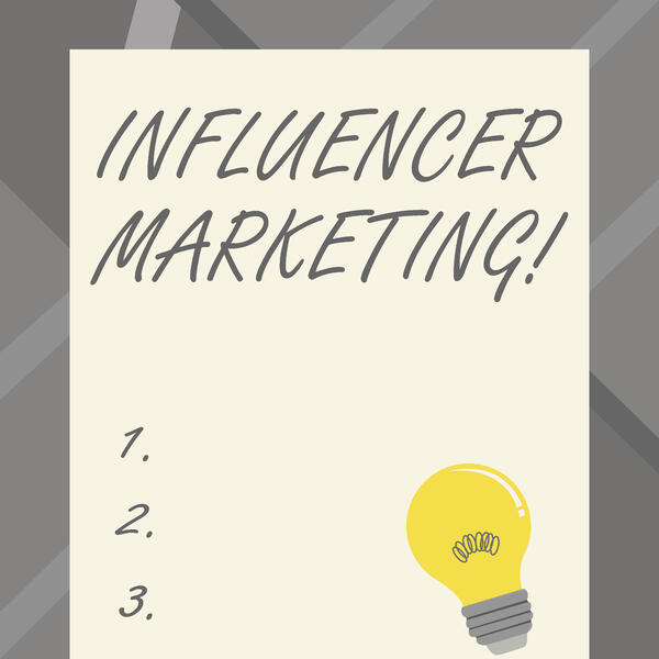 steps in influencer marketing