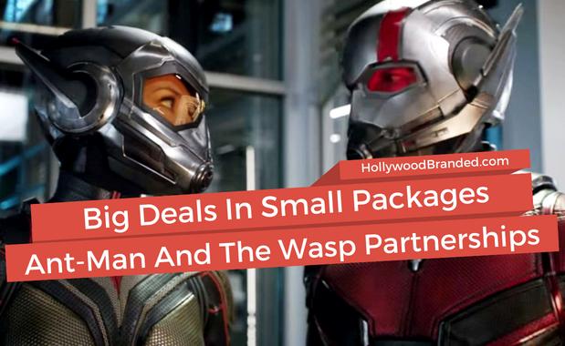 Ant-Man & Wasp Top Brand Partnerships
