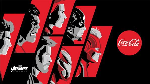 Avengers Coca Cola Banner