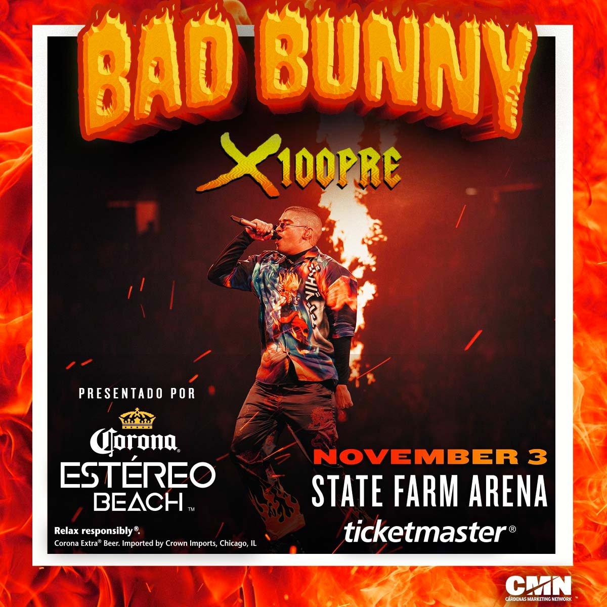 Bad Bunny Corona Estereo Beach concert partnership