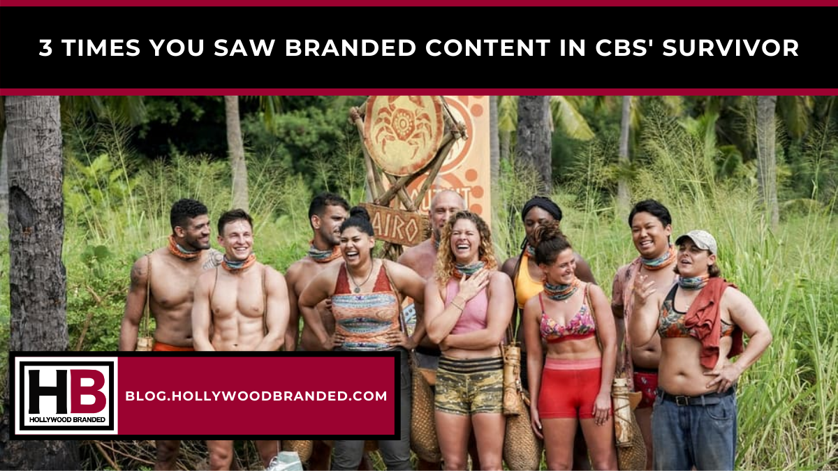 Blog Cover 3 Times you saw Branded Content in CBS' SurvivoR