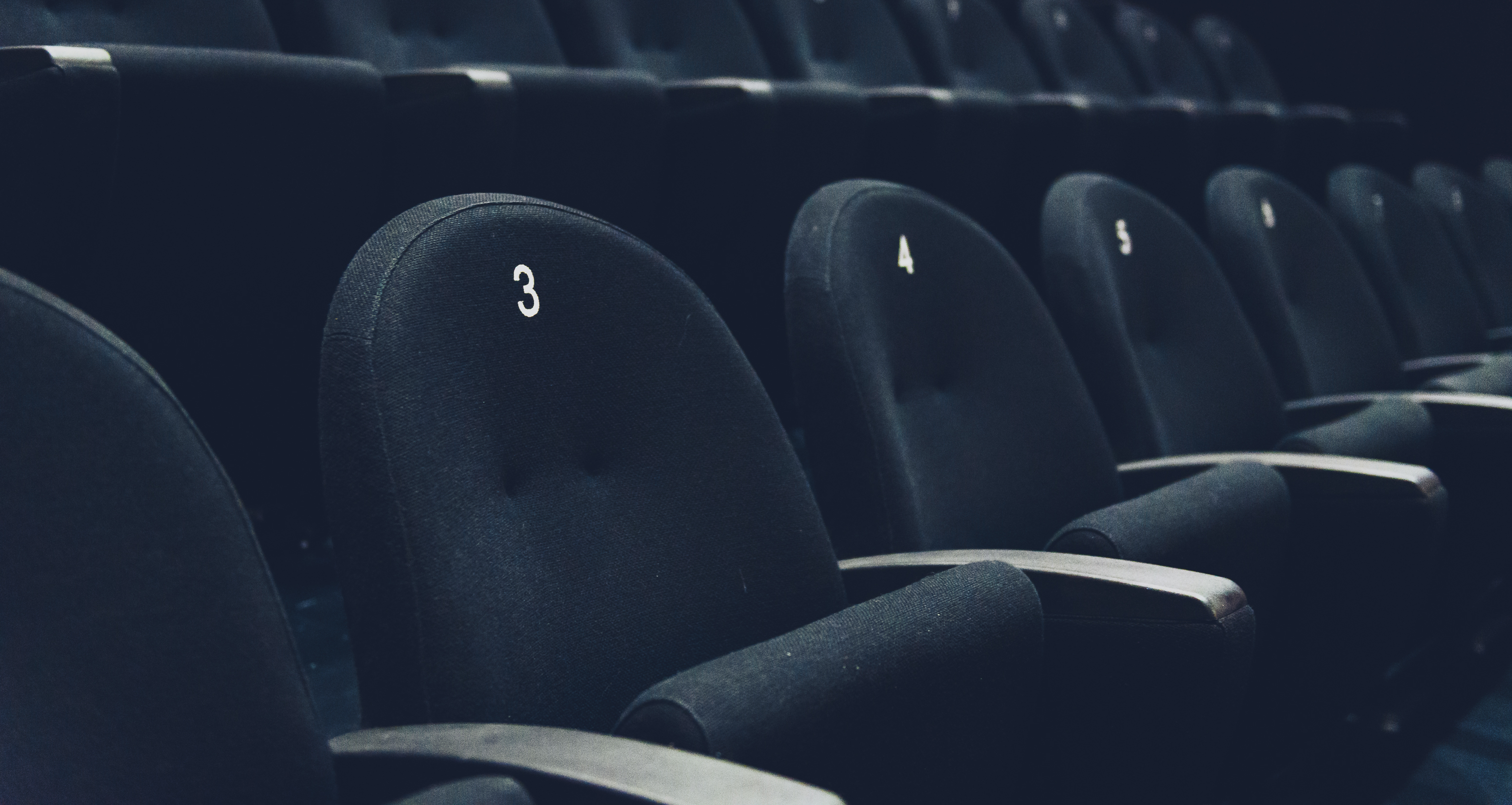 Empty theater, closing theaters, product placement, streaming