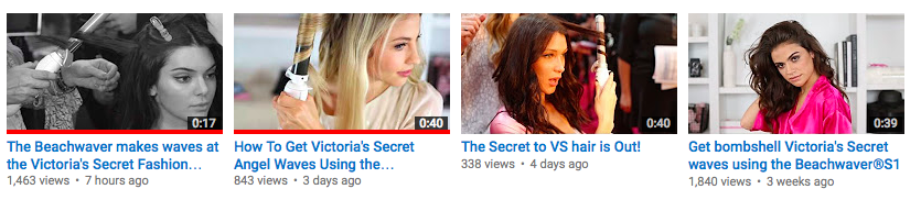 Beachwaver YouTube Page Victoria's Secret Hollywood Branded.png