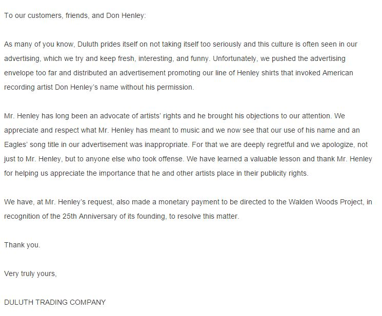 Duluth_Trading_Company_Apology_Letter