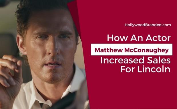 matthew mcConaughey created a lasting impression in lincoln ads