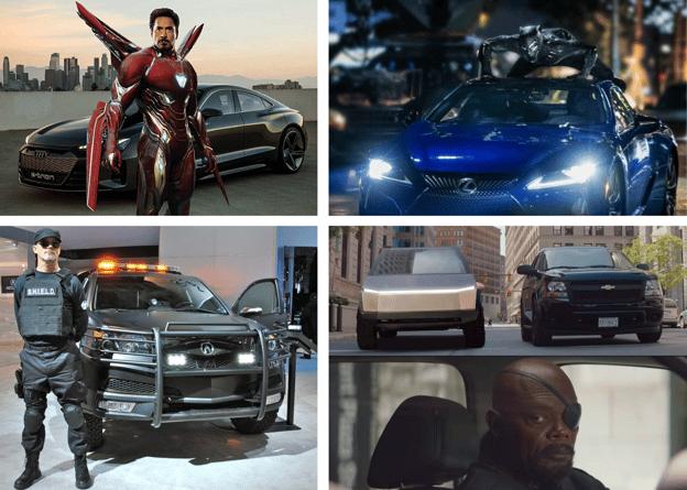 Marvel Car Brand Partnerships