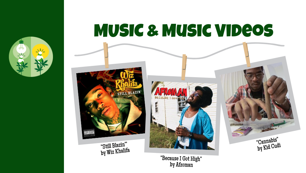 Cannabis Product Placement 9:Music and Music Videos