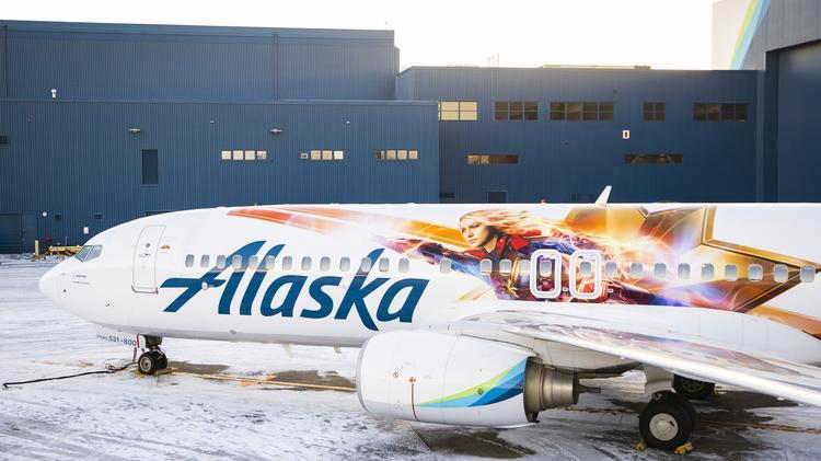 Captain Marvel Alaska Plane