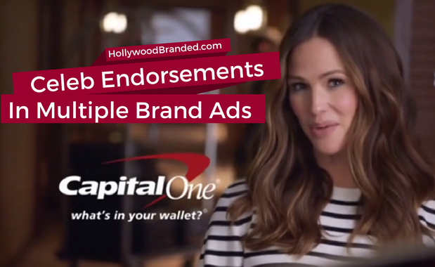 Celeb endorsements in multiple ads