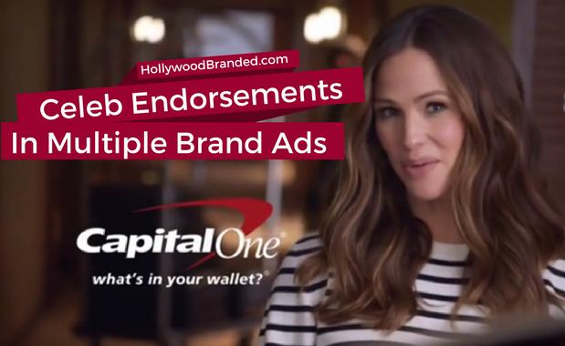 Celeb endorsements in multiple ads
