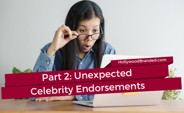 Celebrity Endorsement Ads Paired with Unexpected Brand Categories Part 2-1