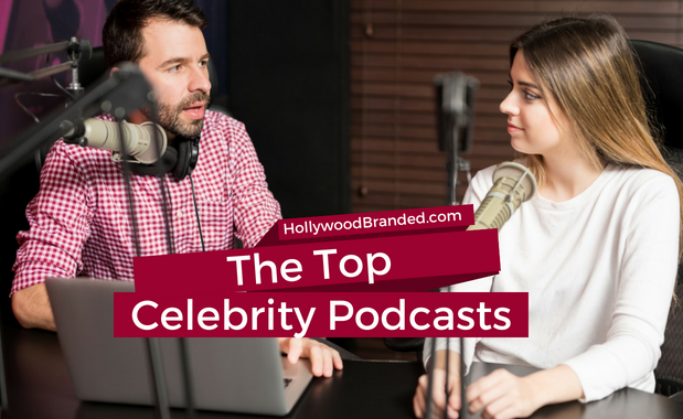 Celebrity Podcasts canva