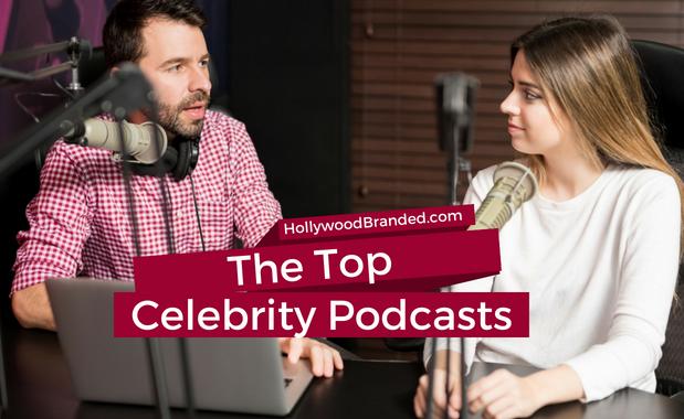 Celebrity Podcasts canva