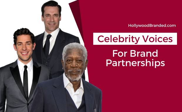 Celebrity Voices Brand Partnerships