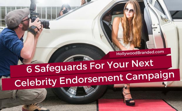 Celebrity endorsement campaign safeguards