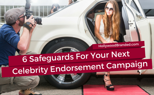 Celebrity endorsement campaign safeguards