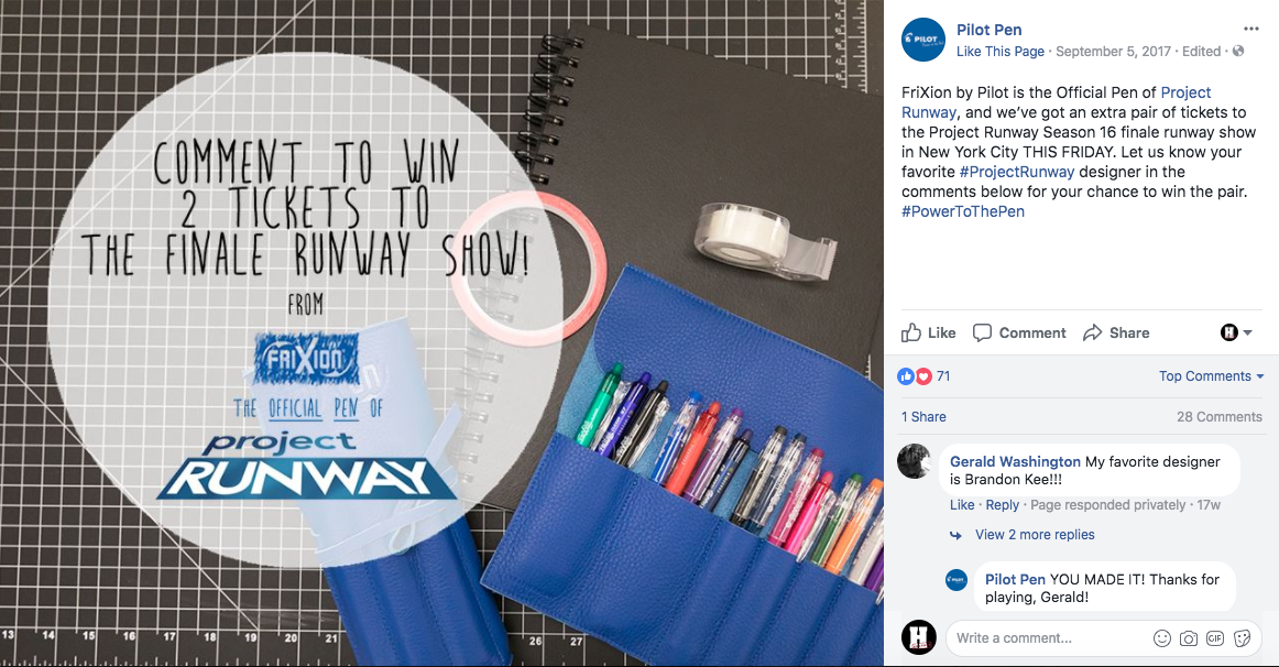Contest Announcement FB Sept 5