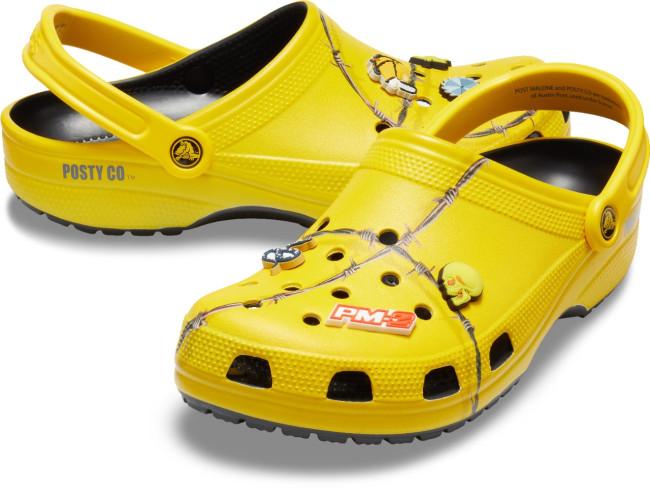 Crocs post second