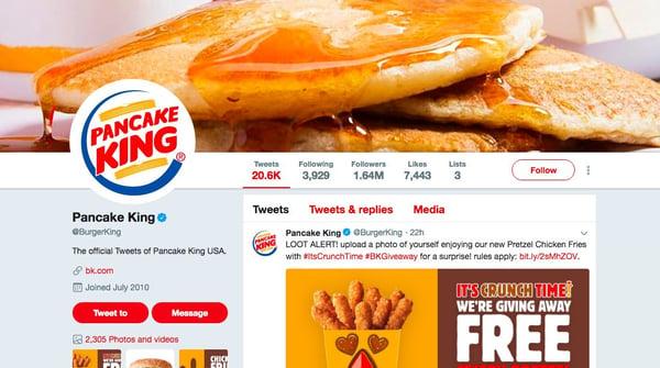 Pancake King: Marketing