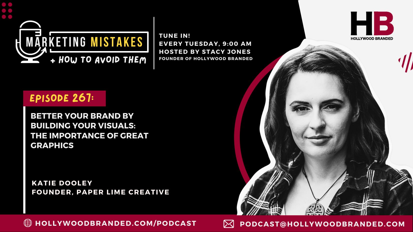 EP 267 Better Your Brand By Building Your Visuals The Importance of Great Graphics With Katie Dooley  Paper Lime Creative (2)