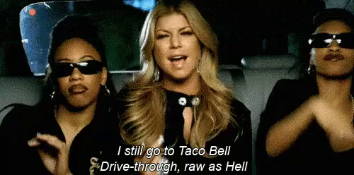 Fergie and taco bell