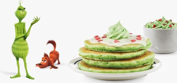Grinch IHOP Pancakes