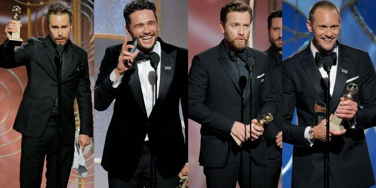 Golden Globes metoo pin
