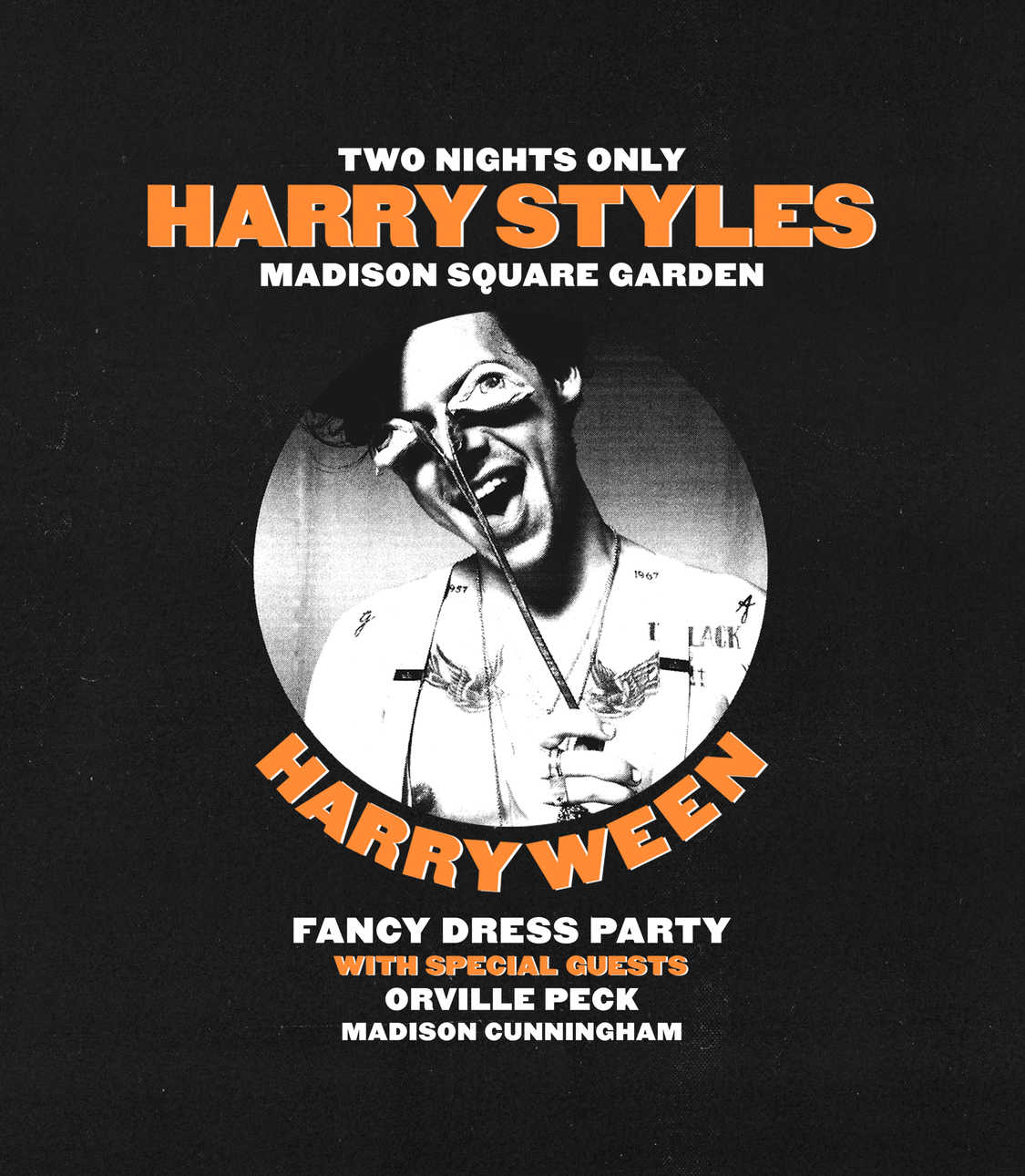 Harry Styles Harryween concert at Madison Square Garden with special guest Orville Peck