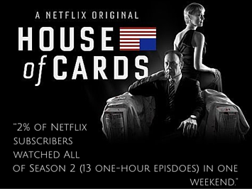 Hollywood Branded House of Cards Stat