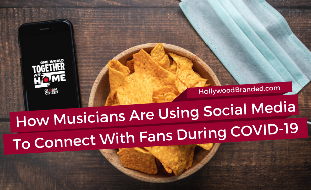 How musicians are using social media to connect with fans during COVID-19