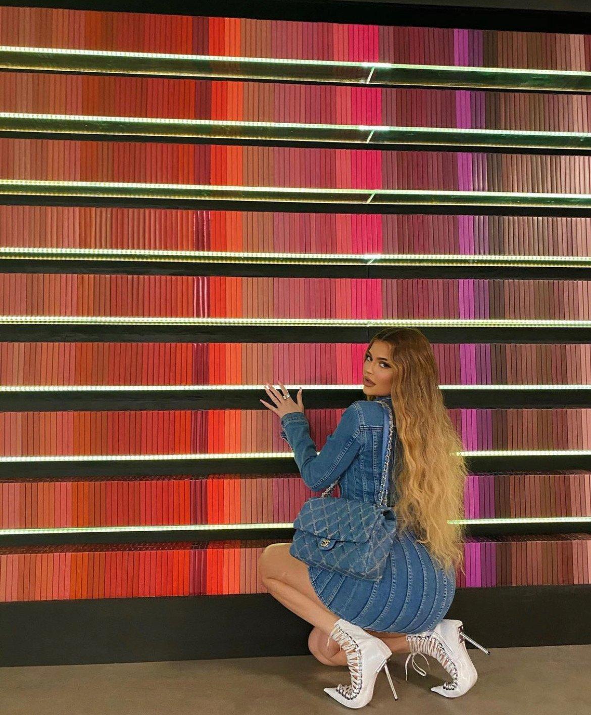 Kylie Jenner Lip Kit Wall