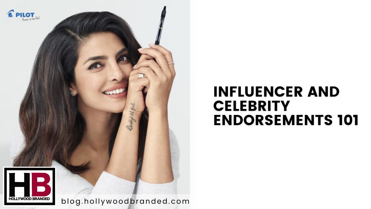 Influencer and Celebrity Endorsements 101-1