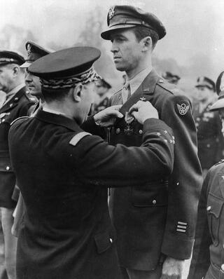 Hollywood Branded Jimmy Stewart military