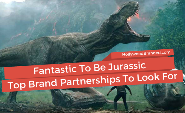 Jurassic World Brand Partnerships