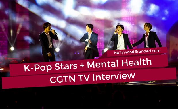 K-Pop Celebrities & Mental Health With CGTN TV