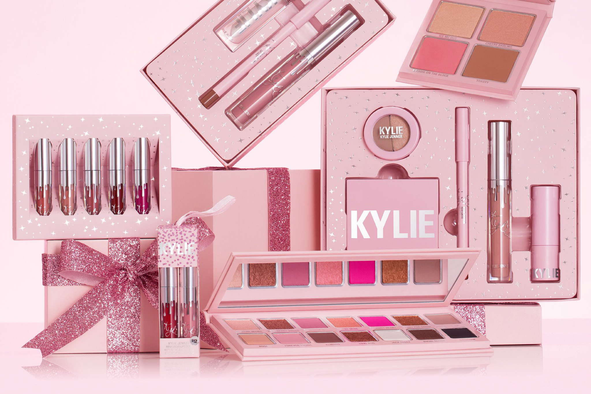 Kylie Jenner Kylie Cosmetics celebrity line of makeup and skincare