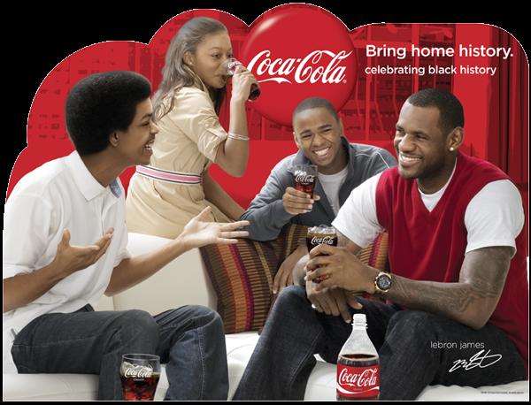 Lebron James Coca Cola