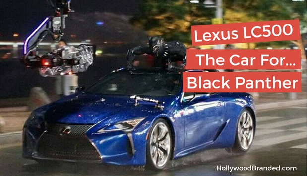 Lexus LC500 The Car For Black Panther