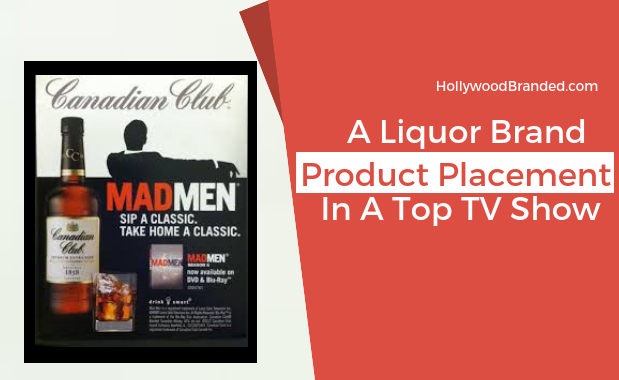 Mad Men Product Placement Canadian Club