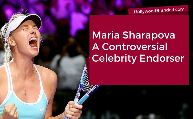 Maria Sharapova Controversial Celebrity