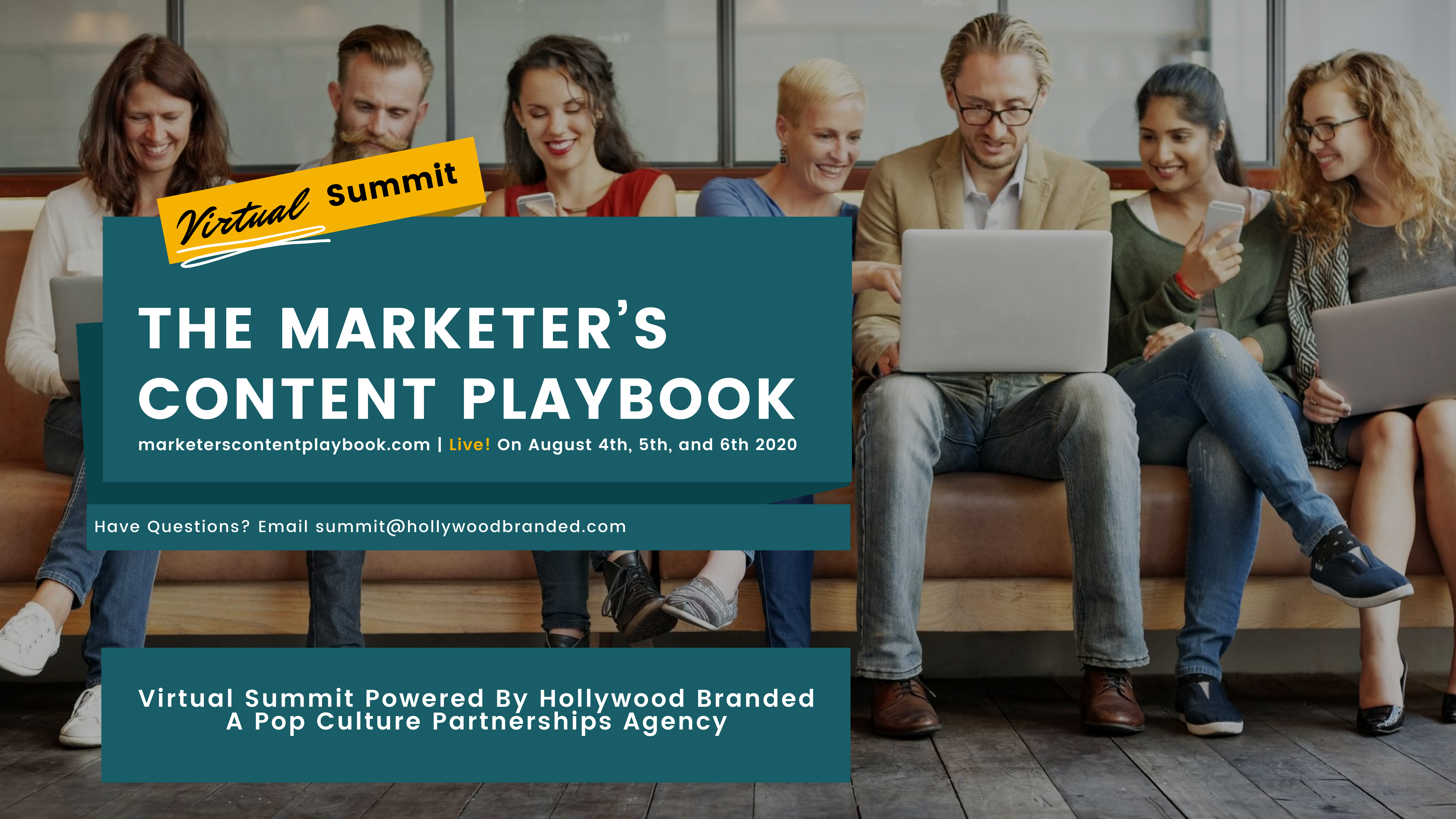 Marketers Content Playbook Virtual SummitBy Hollywood Branded